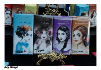 Shakespeare's leading ladies exclusive chocolate