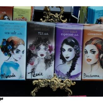 Shakespeare's leading ladies exclusive chocolate